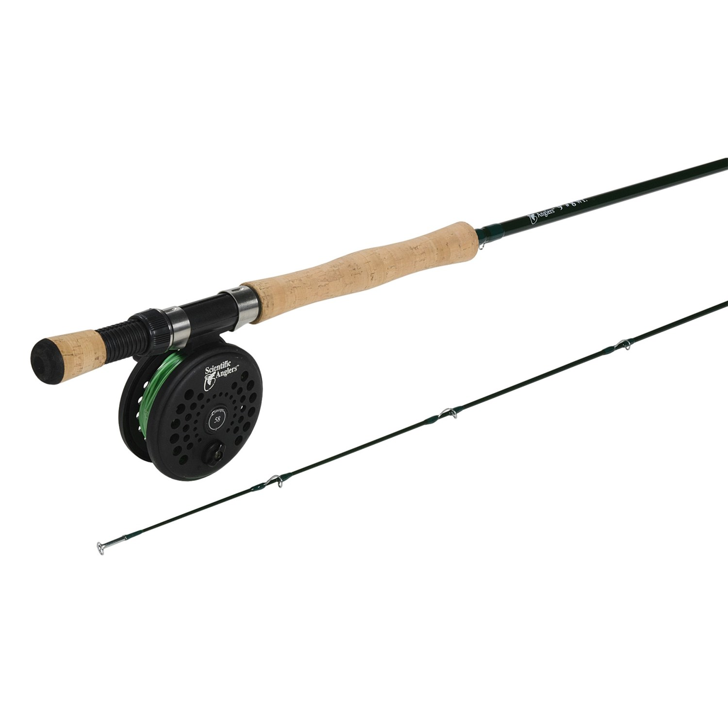 Brand new scientific anglers fly fishing rod and reel for Fly fishing combo