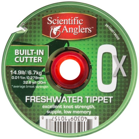 Scientific Anglers Freshwater Tippet - 32.8 yds., 40 lb. in Clear
