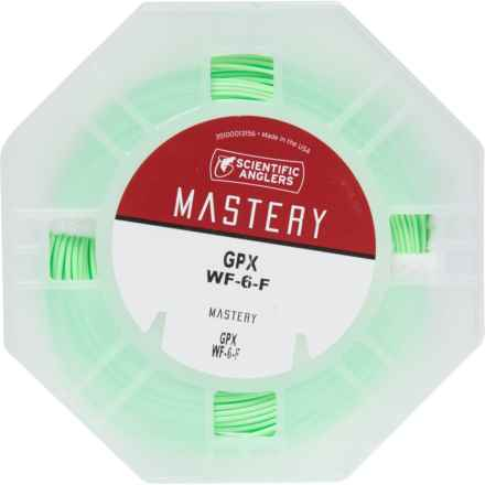 Scientific Anglers Mastery GPX Fly Line - Weight Forward, 6wt in See Photo - Closeouts