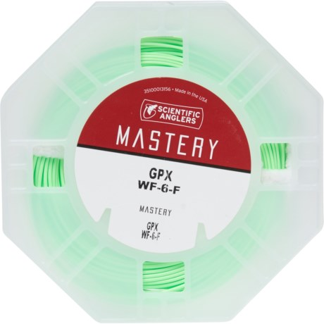 Scientific Anglers Mastery GPX Fly Line - Weight Forward, 6wt in See Photo