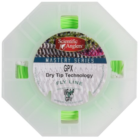 Scientific Anglers Mastery GPX Fly Line Weight Forward Dry Tip Technology with Loops