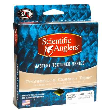 Scientific Anglers Mastery Grand Slam Taper Fly Line - Textured, Floating in Turtle Grass/ Pale Yellow - Closeouts