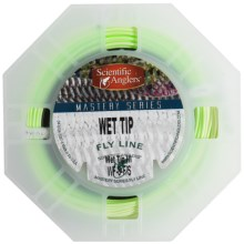 Scientific Anglers Mastery Series Wet Tip III Fly Line - Sinking, Weight Forward in Medium Green/Dark Green - Closeouts