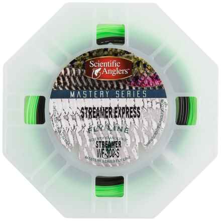 Scientific Anglers Mastery Streamer Express Fly Line - Weight Forward, Sinking in Green/Dark Grey - Closeouts