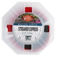 Scientific Anglers Mastery Streamer Express Taper Fly Line - Sinking Tip, Freshwater/Saltwater, 100' in Red/Dark Gray - Closeouts