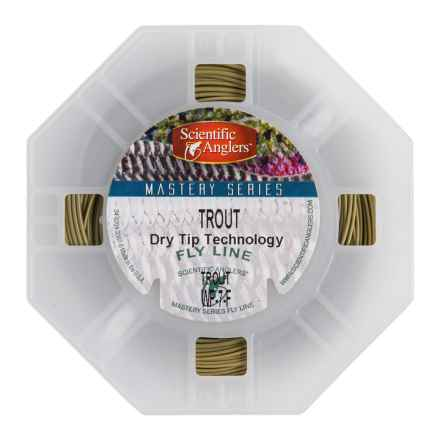 Scientific Anglers Mastery Trout Dry Fly Line - Floating, Weight Forward, Mastery Texture in Dark Willow - Closeouts