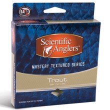 Scientific Anglers Mastery Trout Taper Fly Line - Floating, Textured, 90' in Willow/Dark Willow - Closeouts