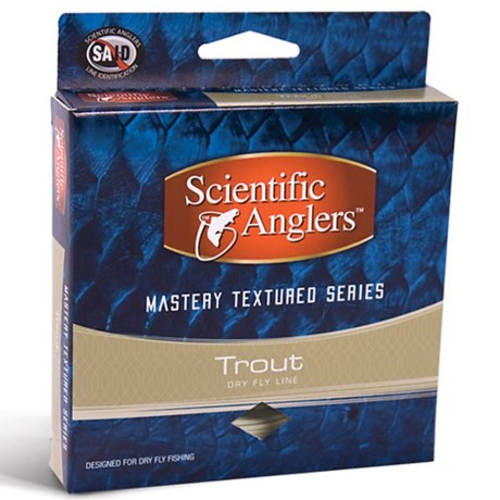 Scientific Anglers Mastery Trout Taper Fly Line - Floating, Textured, 90'