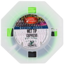 Scientific Anglers Mastery Wet Tip Express Fly Line - Weight Forward, Sinking Tip in Green/ Dark Gray - Closeouts