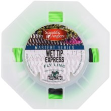 Scientific Anglers Mastery Wet Tip Express Fly Line - Weight Forward, Sinking Tip in Mist Green/Dark Gray - Closeouts