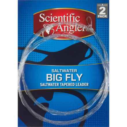 Scientific Anglers Premium Big Fly Leader - Loops, 2-Pack, 8' in See Photo - Closeouts