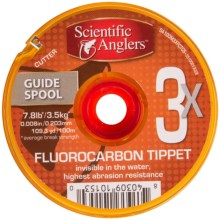 Scientific Anglers Premium Fluorocarbon Tippet - 100m, Guide Spool in See Photo - Closeouts