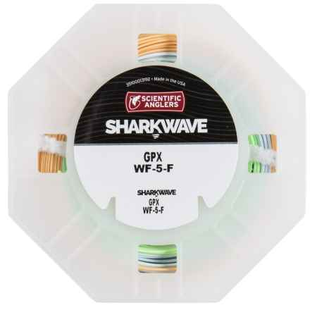 Scientific Anglers Sharkwave GPX Stealth Taper Fly Line - Floating, Weight Forward in Buckskin/Blue/Optic Green - Closeouts