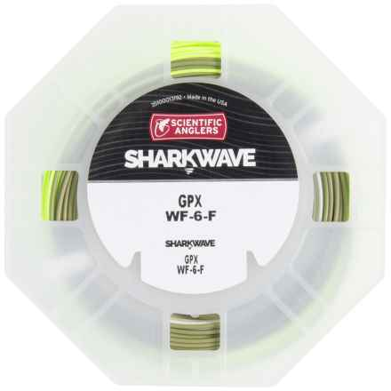 Scientific Anglers Sharkwave GPX Stealth Taper Fly Line - Floating, Weight Forward in Chartreuse/Dark Willow/Willow - Closeouts