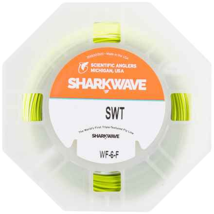 Scientific Anglers Sharkwave Saltwater Taper Fly Line - Floating, Weight Forward in Yellow/Turtlegrass/Horizon - Closeouts