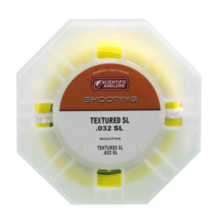 """Scientific Anglers Shooting Fly Line - Textured SL, .032"""" in Yellow/Gray - Closeouts"""