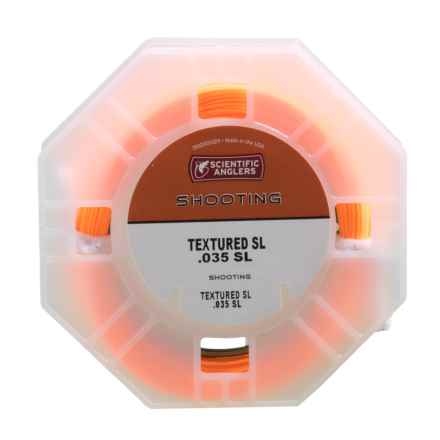 """Scientific Anglers Shooting Fly Line - Textured SL, .035"""" in Orange/Gray - Closeouts"""