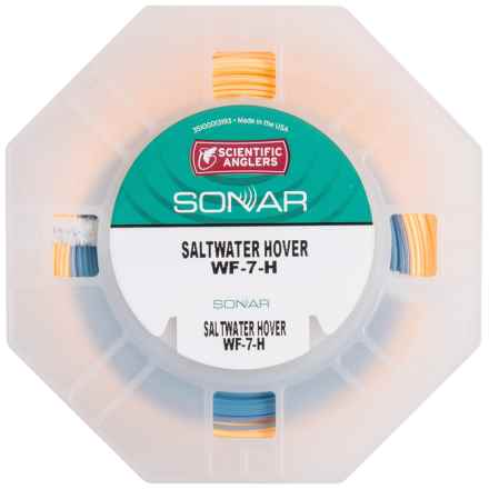 Scientific Anglers Sonar Saltwater Hover Fly Line - Sinking, Weight Forward in Sunrise/Surf - Closeouts