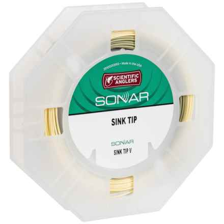 Scientific Anglers Sonar Sink Tip V Fly Line - Weight Forward in Sand/Sage/Black - Closeouts