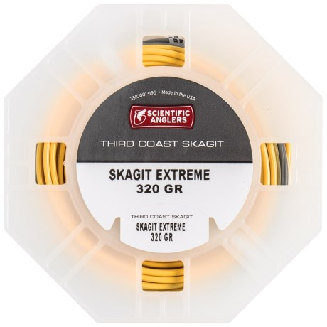 Scientific Anglers Third Coast Skagit Head Fly Line - Floating in Heron/Fire Gold