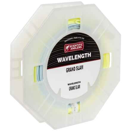 Scientific Anglers Wavelength Grand Slam Saltwater Fly Line - Weight Forward in Yellow/Horizon - Closeouts