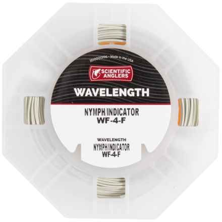 Scientific Anglers Wavelength Nymph-Indicator Fly Line - Floating, Weight Forward in Willow/Orange - Closeouts