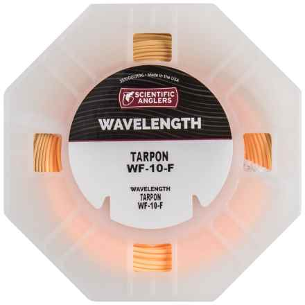Scientific Anglers Wavelength Tarpon Saltwater Fly Line - Weight Forward, Floating in Conch Tan/Sunrise - Closeouts
