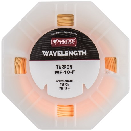 Scientific Anglers Wavelength Tarpon Saltwater Fly Line - Weight Forward, Floating in Conch Tan/Sunrise