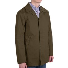 Scotch & Soda Half Long Trench Coat (For Men)