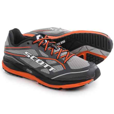 SCOTT AF+ Support Running Shoes (For Men) in Grey/Orange - Closeouts