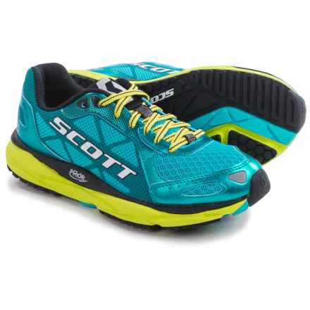 SCOTT AF+ Trainer Running Shoes (For Women) in Blue/Yellow - Closeouts