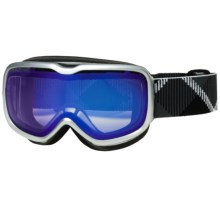 Scott Aura Snowsport Goggles - Illuminator Lens (For Women) in Gloss Silver/Illuminator - Closeouts