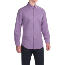 Scott Barber Andrew Solid Shirt - Button Front, Long Sleeve (For Men) in Lavander - Closeouts