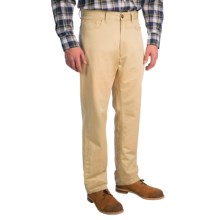 Scott Barber Delave Pants - Cotton-Linen (For Men) in Willow - Closeouts