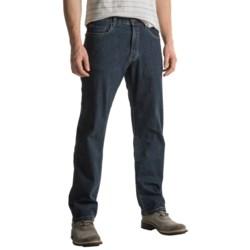 Scott Barber Denim Jeans - Classic Fit (For Men) in Dark Wash