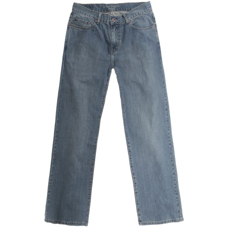 Scott Barber Denim Jeans - Classic Fit (For Men) in Light Wash