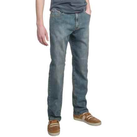 Scott Barber Denim Jeans - Classic Fit (For Men) in Medium Wash - Closeouts