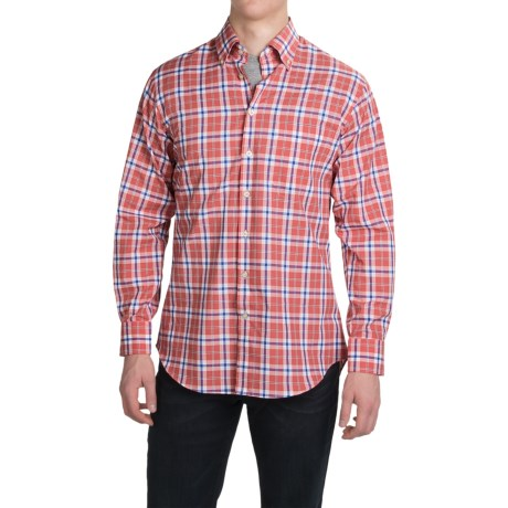 Scott Barber James Compact Poplin Shirt Long Sleeve (For Men)
