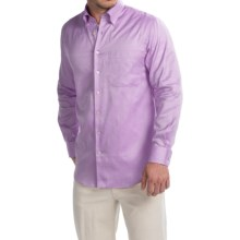 Scott Barber James Italian Super Oxford Shirt - Long Sleeve (For Men) in Lavender - Closeouts