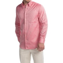 Scott Barber James Italian Super Oxford Shirt - Long Sleeve (For Men) in Pink - Closeouts