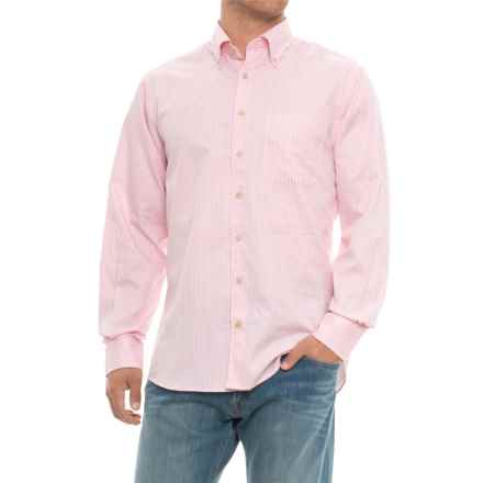 Scott Barber James Plaid Shirt - Long Sleeve (For Men) in Pink Plaid - Closeouts