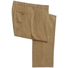 Scott Barber Kirk Pants - Silk-Cotton (For Men) in Brown - Closeouts