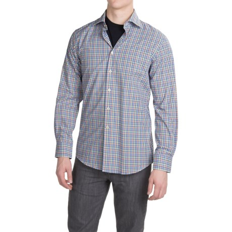 Scott Barber Martin Compact Poplin Shirt Long Sleeve (For Men)