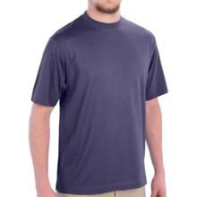Scott Barber Pima Cotton Jersey T-Shirt - Short Sleeve (For Men) in Denim - Closeouts