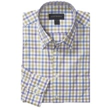 Scott Barber Spring Andrew Check Sport Shirt - Hidden Button Down, Long Sleeve (For Men) in Multi - Closeouts