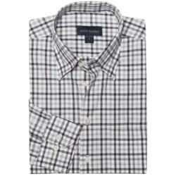 Scott Barber Spring Andrew Plaid Sport Shirt - Long Sleeve (For Men) in Grey