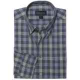 Scott Barber Spring Andrew Plaid Sport Shirt - Long Sleeve (For Men)