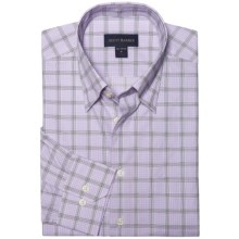 Scott Barber Spring Andrew Plaid Sport Shirt - Long Sleeve (For Men) in Lavender - Closeouts