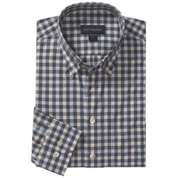 Scott Barber Spring James Check Sport Shirt - Cotton, Long Sleeve (For Men) in Multi