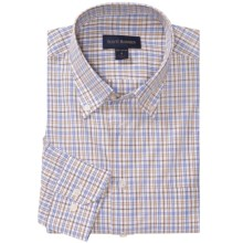 Scott Barber Spring James Shirt - Cotton Poplin, Long Sleeve (For Men) in Blue/Yellow/White - Closeouts